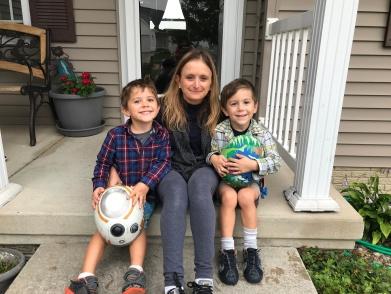 Sarah and boys